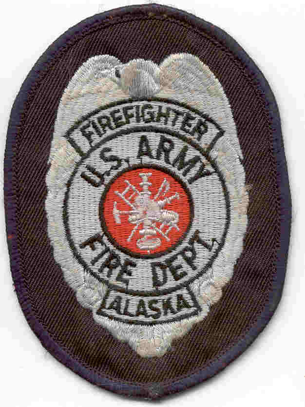 Us army firefighter patch